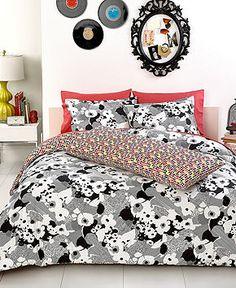 Trina Turk Bedding, Sophisticated Floral Comforter Sets - Dorm Bedding - Bed & Bath - Macy's