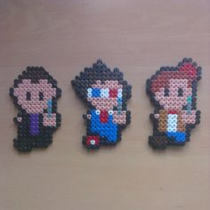 Doctor Who perler beads by fadfadet