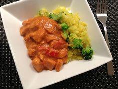 comfort food: kylling i peanutsauce - LCHF
