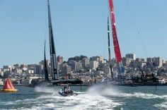 """All in all, a fantastic job by the team,"" said #OracleTeamUSA skipper Jimmy #Spithill. ""We got off the line well in both races, Ben (#Ainslie, tactician) and Tom (#Slingsby, strategist) made some high-pressure decisions, and in terms of physicality it was one of the toughest days out there given how up and down the wind range was. The boys on the handles (the grinders) dug in and were rewarded."""