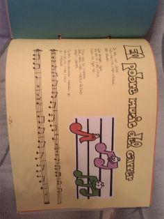 Cançoner infantil (cançò amb lletra + partitura + dibuix + explicació per implementar la cançò)