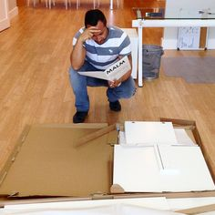Happy #Friday #Everyone! Even the fearless #leader of #ClickSEOMarketing has trouble putting together #IKEA furniture. Is there anyone on earth that can actually figure this stuff out? Franco said that he will buy lunch for anyone who comes to help him out. #FunFriday #frustration #desk #confusion #workinghard #helpme #Toronto #GTA #SEO #marketing #internetmarketing #strategy #growth