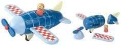 Kol Kid : Janod - Plane Magnet - J05205