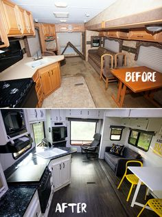 Beautiful Ideas To Turn Your Camper Just Like Your Own Home, Folding camping trailers are a few of the smallest towable RVs out there. The wheel trailers are extremely similar in many respects to the typical. Camper Hacks, Rv Hacks, Camper Ideas, Diy Camper, Camper Van, Kombi Motorhome, Rv Campers, Happy Campers, Teardrop Campers