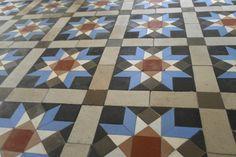 un pavimento de mosaico de Nolla