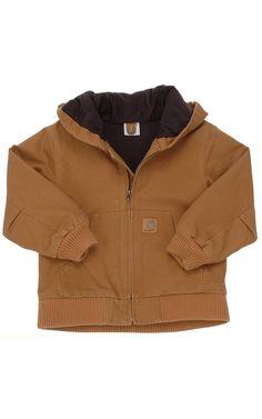 Carhartt Boys' Brown Active Jacket