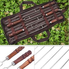 Bbq Skewers, Indoor Grill, Tool Set, Cool Gadgets, Outdoor Travel, Cool Kitchens, Wine Rack, Barbecue, Catering