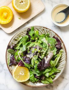 Two-Ingredient Recipe: Miso & Citrus Salad Dressing — Recipes from The Kitchn | The Kitchn