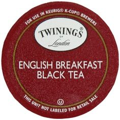 Twinings English Breakfast Tea, K-Cup Portion Pack for Keurig K-Cup Brewers, 24-Count - http://teacoffeestore.com/twinings-english-breakfast-tea-k-cup-portion-pack-for-keurig-k-cup-brewers-24-count/