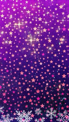 Stars snowflakes iphone background phone wallpaper lock screen