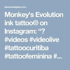 "Monkey's Evolution ink tattoo® on Instagram: ""🌸 #videos #videolive #tattoocuritiba #tattoofeminina #hearttattoo #watercolortattoo #flordelotus #tattooedgirl #curitiba #parana #brazil…"" • Instagram"