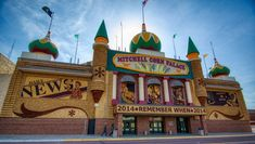 South Dakota - The World's Only Corn Palace Credit: Phil Lowe/ Shutterstock The World's Only Corn Palace or the Mitchell Corn Palace, is a quirky, but cool multi-purpose arena in Mitchell. It was built in the Moorish Revival style and is adorned with crop art made from corn and other grain that features constantly-evolving design. The Corn Palace hosts concerts, sports events, exhibits and other community events
