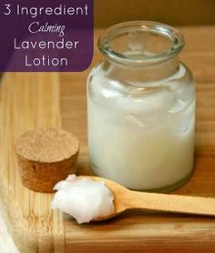 Lavender lotion. It's so simple.  Health is THIS easy.  Let Ayurveda show you the way.