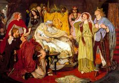 Cordelia's Portion by Ford Madox Brown, 1866-1872