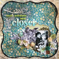 """Fabulous layout using papers from our """"Splendid"""" Collection #AuthentiquePaper"""