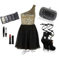 Polyvore Party Outfit <3