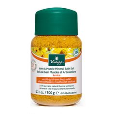 Kneipp Arnica Joint & Muscle Mineral Bath Salt 500g - FOR RECOVERY BATHS