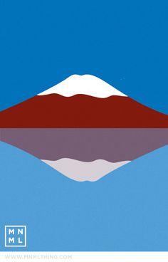 MNML THING #23 Mt Fuji http://mnmlthing.com