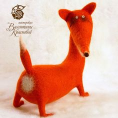 Oreillons - Felted Red Fox