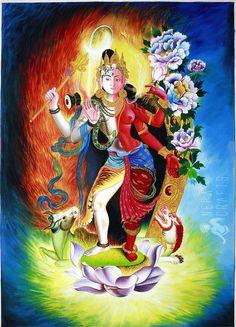 shiva paintings   http://www.garudaexpress.com/NepaCrafts/images/Thangka%20Paintings ...