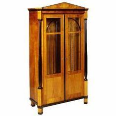 Petite Biedermeier Bookcase