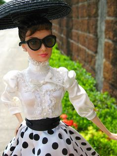 Audrey Hepburn Barbie Doll. Okay mom and dad I know what I want for Christmas.