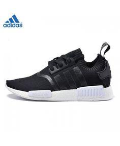 c349bbfe3 Adidas Nmd R1 Primeknit Core Noir Ba8629 Noir Blanc Unisex Chaussures