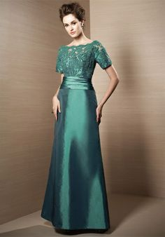 Jade mother of the bride dress from the knot
