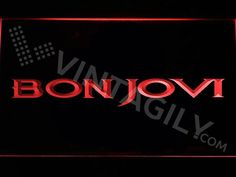 Bon Jovi LED Sign