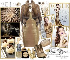 """""""HAPPY NEW YEAR to all of my lovely Poly-friends ..."""" by firstclass1 ❤ liked on Polyvore"""