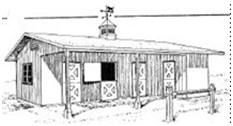 Free Horse Shelter Building Plans | ... free design plans and building details for horse barns, stables, horse