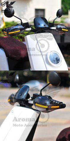 motorbike handguard protectors motocross falling protection ATV moto dirt pit bike scooter plastic parts motorcycle hand guards