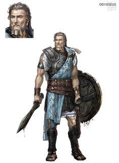 Odysseus - Warriors: Legends of Troy - game artworks at Riot Pixels