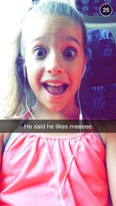 How epic it would be to snapchat with mackenzie or any of the dance moms girls