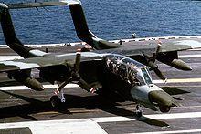 North American Rockwell OV-10 Bronco aboards USS Saratoga - Wikipedia, the free encyclopedia