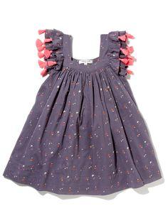 Chloe Dress by Nellystella at Gilt. Love the tassels! Little Girl Fashion, Toddler Fashion, Kids Fashion, Baby Kind, My Baby Girl, Little Girl Dresses, Girls Dresses, Chloe Dress, Kids Frocks