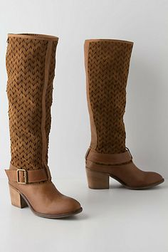 Migration Knee Boots #anthropologie Tall Boots, Knee High Boots, Boot Shop, Dress And Heels, Soft Suede, Leather Heels, Me Too Shoes, Riding Boots, Bootie Boots