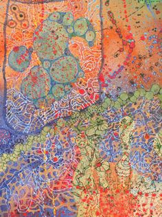 patternprints journal: PATTERNS REPETITIONS AND CHANGES INTO BEAUTIFUL PAINTINGS BY LUCINDA FRIENDLY MURPHY