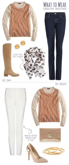 What To Wear: Sweater Weather