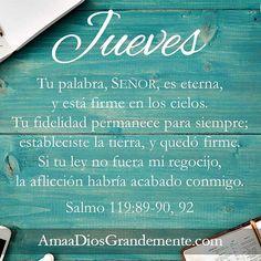 #AmaaDiosGrandemente #Salmo119 #EsperanzaenDios #vidaCristiana #Estudiobíblico