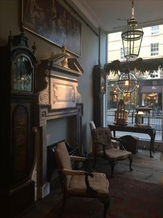 The lights are on for the New Year. Antique and reproduction lighting, fireplaces and furniture.