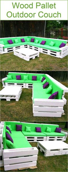 I was just wondering that it has been so long that we didn't work much on some outdoor wooden pallet couches, so we instantly started working on one that we have brought you right here. If we talk about the specifications that are needed and usually expected from such wooden furniture article, what exactly we would require from a typical outdoor couch? Well, this certainly must be excessively huge, so eventually accommodate a large number of people at the same time. And if we also focus on