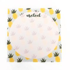 Image of Pineapple Sticky Notes