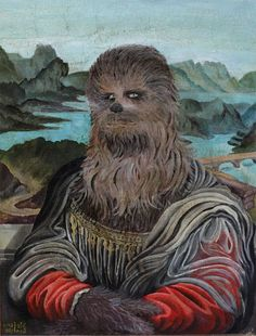 Chewbacca Mona Lisa: DaVinci Had His Arms Ripped out of Their Sockets for This
