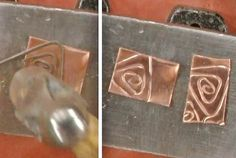7 Essential Metalsmithing Tips: Master Riveting with Kim St. Jean's New Videos; Jewelry Making Daily; hammer-steel-wire-onto-metal