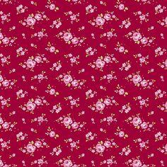 Tilda fabric 110 Mini Rose Red
