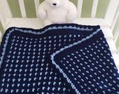 Crochet Baby Blanket Pattern Baby Blanket por DeborahOLearyPattern