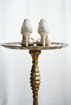 Bridal shoes from @emmy captured by Anna Tereshina