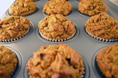 These muffins take minimal time to make and combine carrots and bananas with walnuts and dates to make a dense breakfast treat. They are tasty enough to make you wonder why you ever needed sugar to satisfy your sweet tooth. Kids enjoy these muffins a lot!