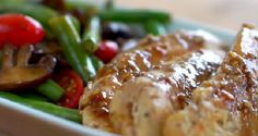 One Pan Balsamic Chicken